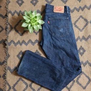 Levi's 513 Blue Jeans